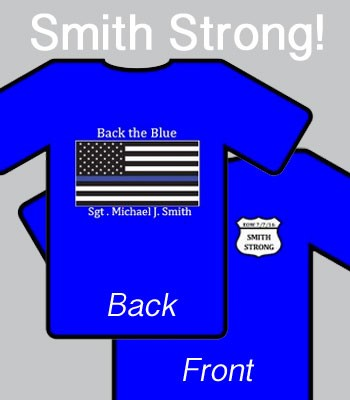 """Smith Strong"" T-shirt Fundraiser!"